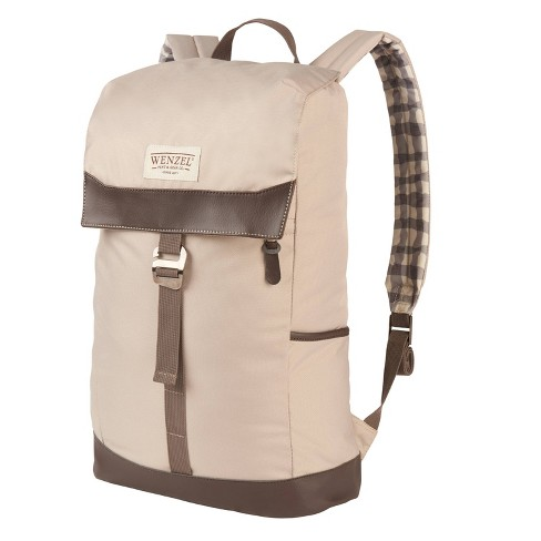 Wenzel Stache 20 with Plaid Daypack - Khaki - image 1 of 6