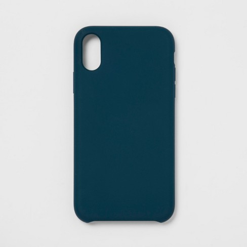 huge selection of ce65e a000b heyday™ Apple iPhone XR Silicone Case - Navy Blue