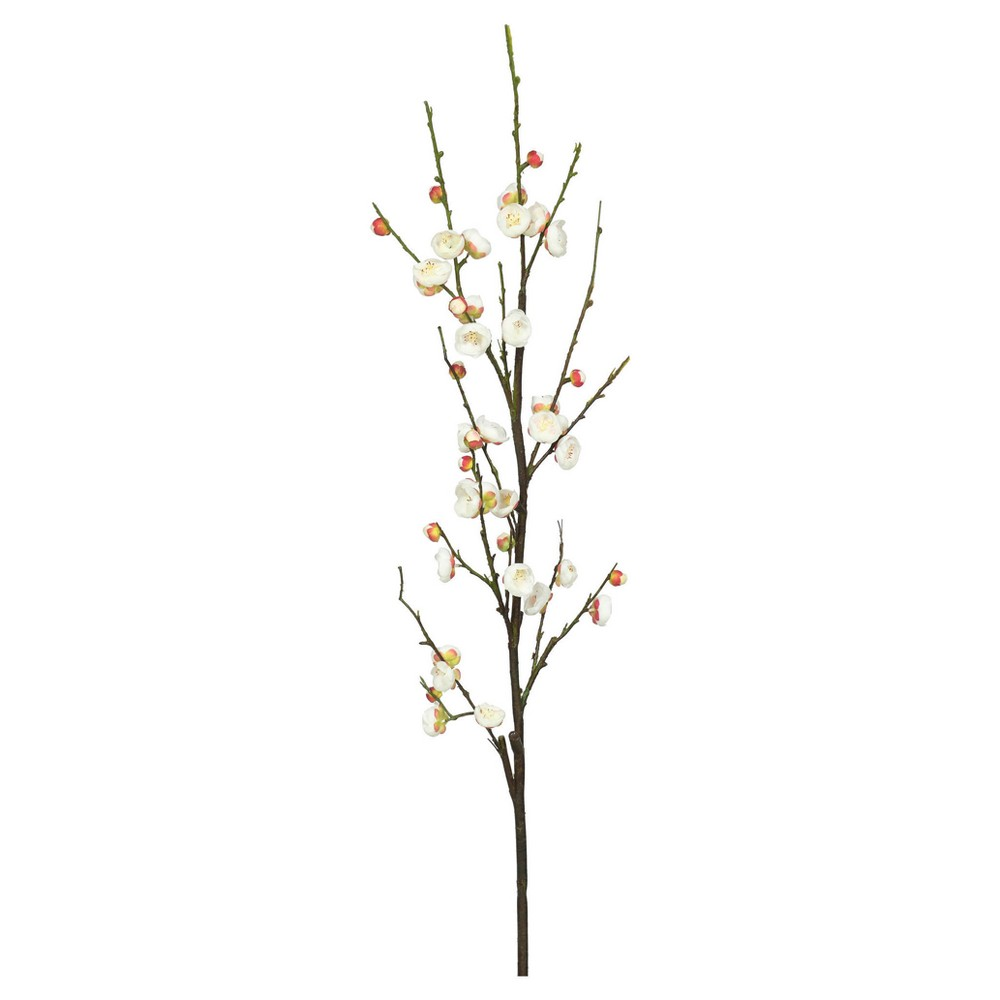 47 Artificial Plum Blossom Stem Cream (Ivory) - Vickerman