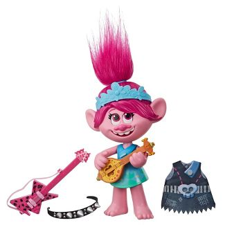 DreamWorks Trolls World Tour Pop-to-Rock Poppy Singing Doll