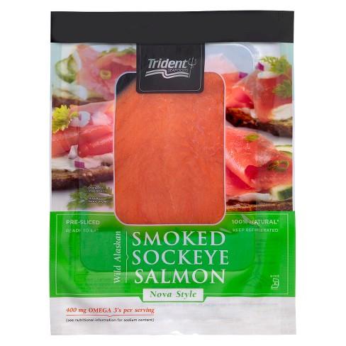 Trident 4 oz Cold Smoked Sockeye Salmon - image 1 of 1