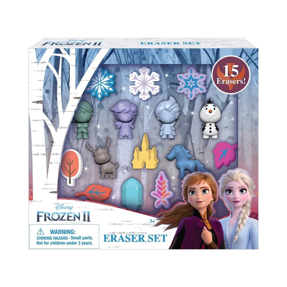 Disney 15pc Frozen 2 Eraser Set