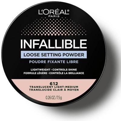 L'Oreal Paris Infallible Tinted Loose Setting Powder - 0.26oz