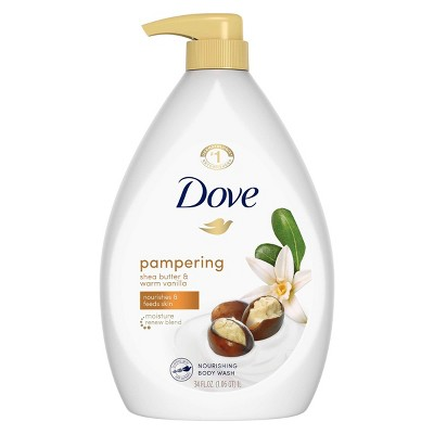 Dove Purely Pampering Shea Butter with Warm Vanilla Body Wash - 34 fl oz