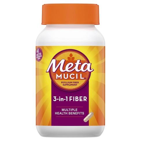 Metamucil Multi-Health Psyllium Fiber Capsule 160ct
