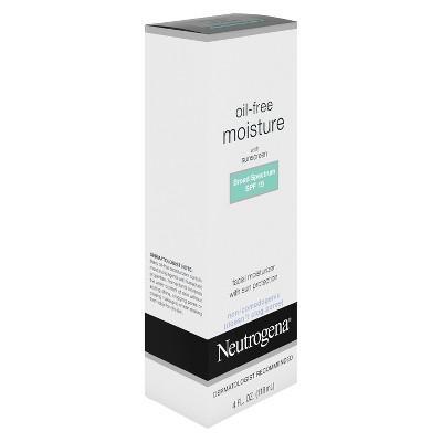 neutrogena oil free face moisturizer