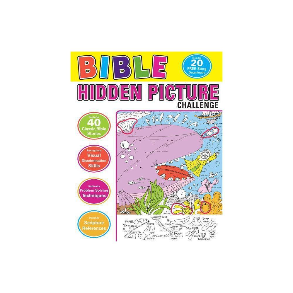 Bible Hidden Picture Challenge By Karen Mitzo Hilderbrand Kim Mitzo Thompson Paperback
