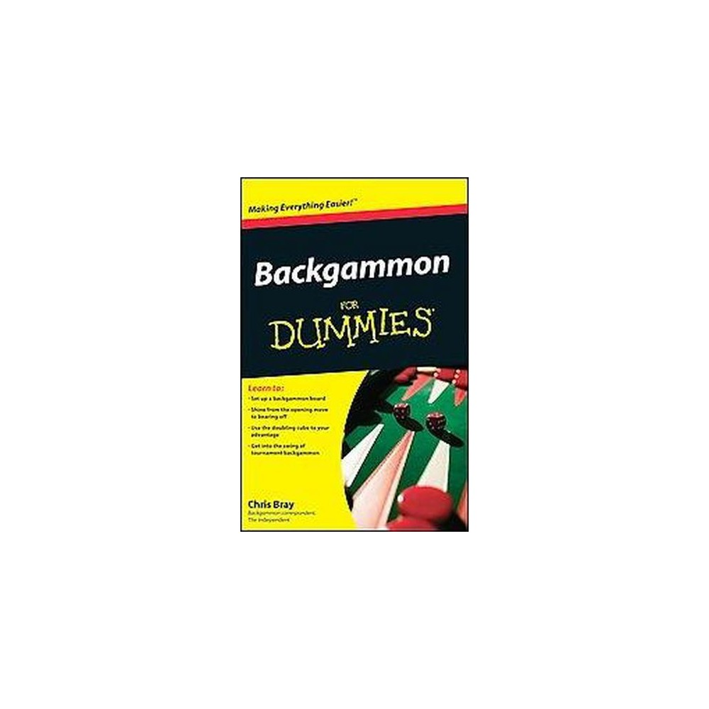 Backgammon For Dummies (Paperback) (Chris Bray)