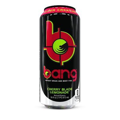 BANG Cherry Blade Lemonade Energy Drink - 16 fl oz Can
