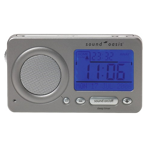 Sound Oasis Travel Sound Therapy System - Charcoal - image 1 of 2