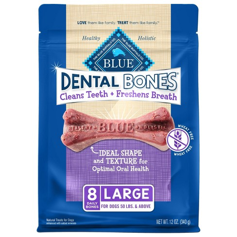 Blue Buffalo Dental Bones for Dog - Large - image 1 of 4