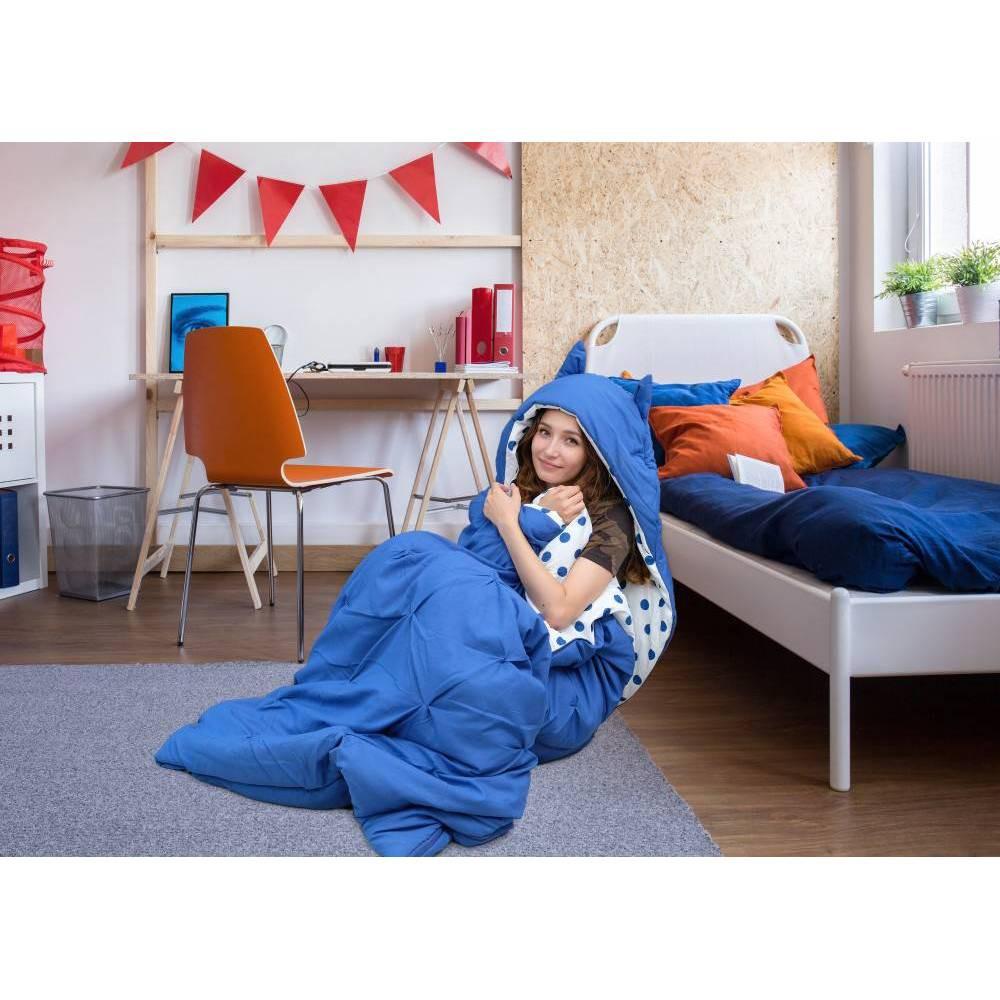 Twin Xl Nicki Sleeping Bag Blue Chic Home Design