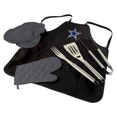 Dallas Cowboys BBQ Apron Tote Pro by Picnic Time