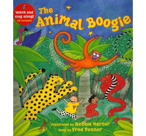 The Animal Boogie (Mixed media product) - image 1 of 1