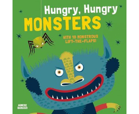 Hungry, Hungry Monsters (Paperback) (Agnese Baruzzi) - image 1 of 1