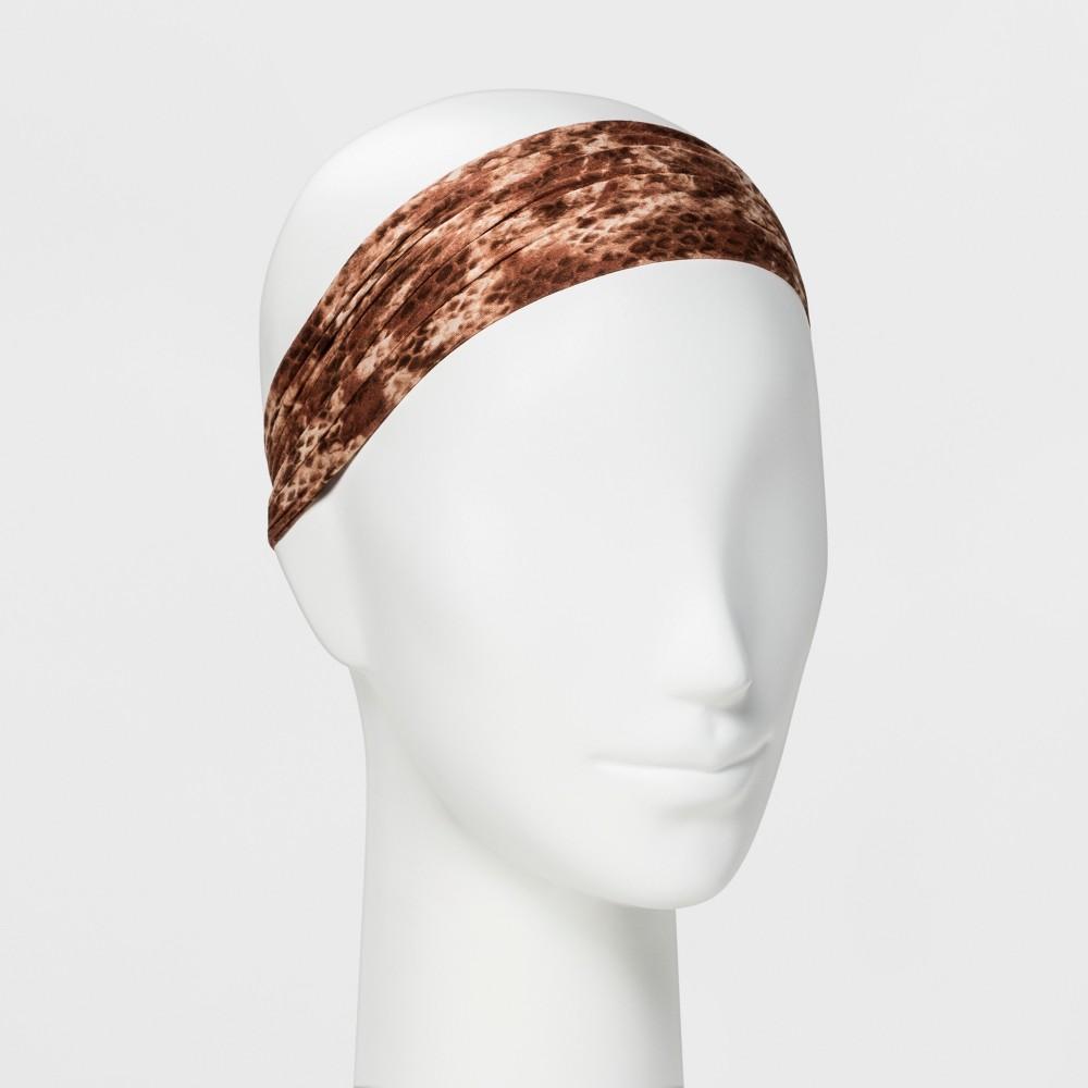 Image of Pink Pewter Headband - Ariana Brown Snake