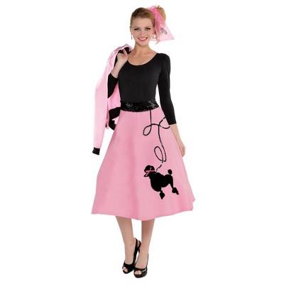 Adult Poodle Skirt Halloween Costume