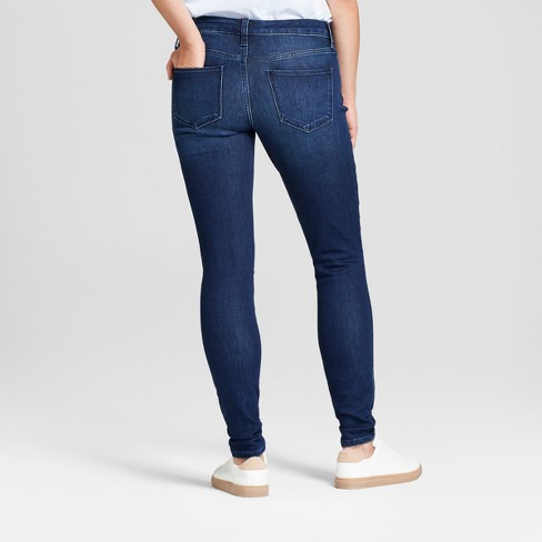 a3195e1cff66 Women s Mid-Rise Skinny Jeans - Universal Thread™ Dark Wash   Target