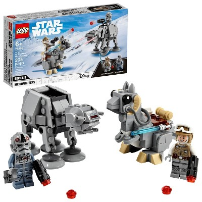 LEGO Star Wars AT-AT vs. Tauntaun Microfighters Building Toy 75298