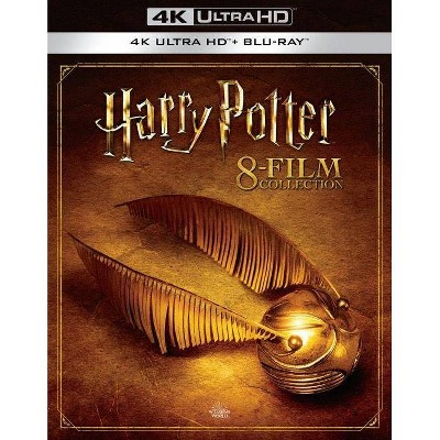 Harry Potter: Complete 8-film Collection (4K/UHD)