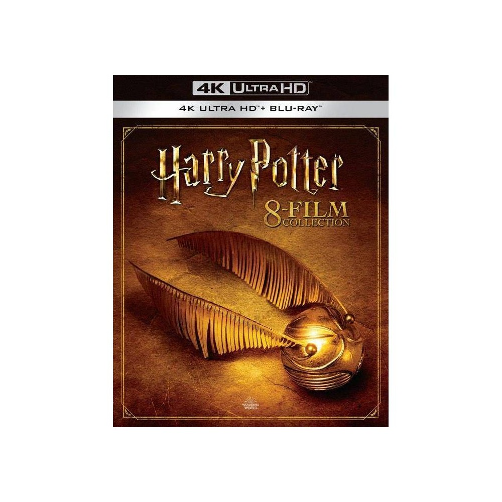 Harry Potter Complete 8 Film Collection 4k Uhd