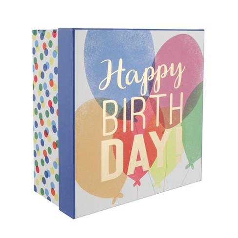 Balloons Gift Box - Spritz™ - image 1 of 2