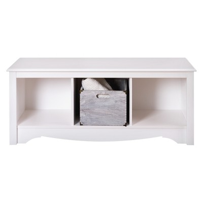 Cubbie Bench White - Prepac