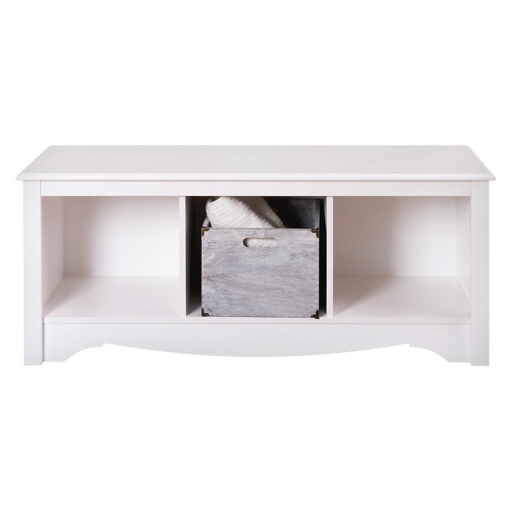 Cubbie Bench White - Prepac