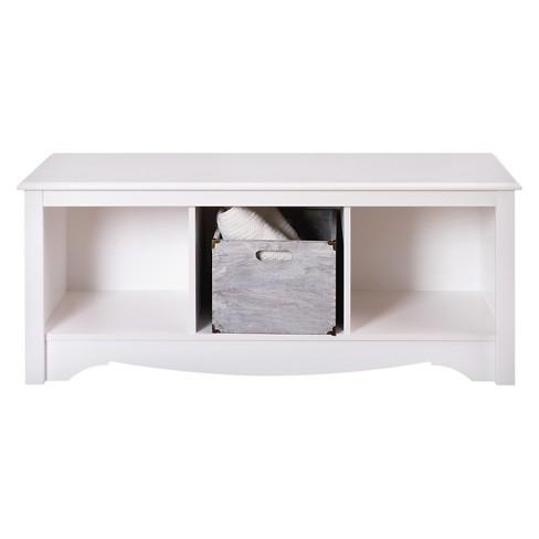 Cubbie Bench White - Prepac - image 1 of 3