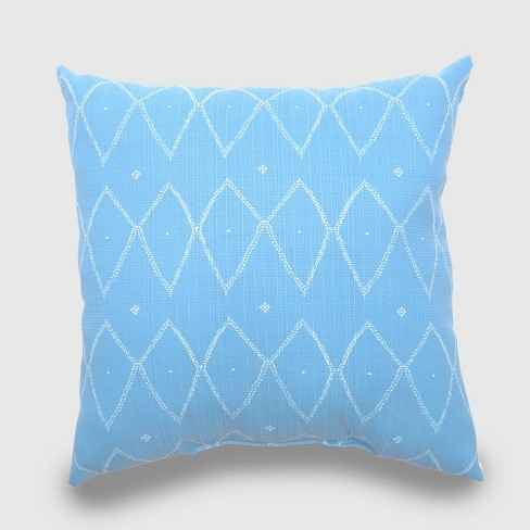 Oversize Square Sayulito Outdoor Pillow Blue - Opalhouse™ - image 1 of 1