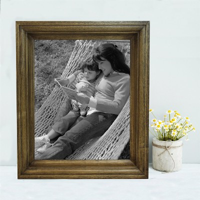 Single Image Frame 8X10 Light Brown - Threshold™