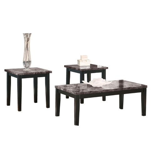 Maysville Table (Set of 3) - Black  - Signature Design by Ashley - image 1 of 2