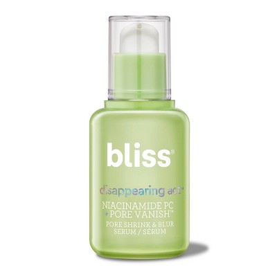 bliss Disappearing Act Pore Shrink & Blur Serum - 1 fl oz