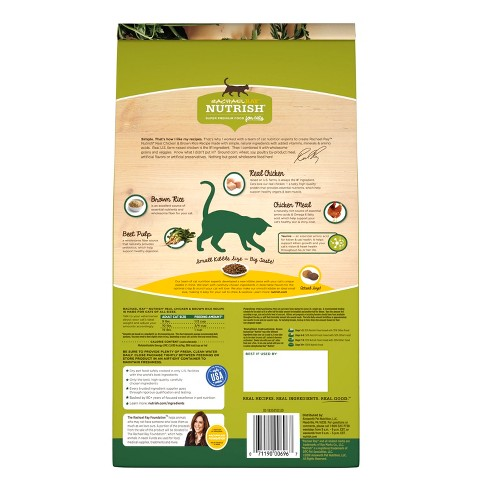 Rachael Ray Nutrish Natural Dry Cat Food Chicken Target