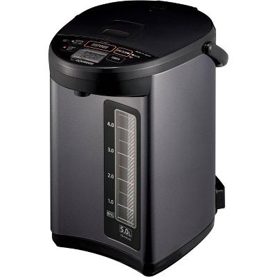 Zojirushi CD-NAC50BM Micom Water Boiler & Warmer - Metallic Black