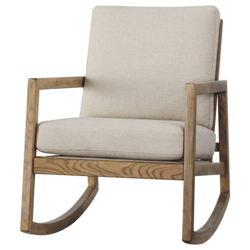 Novelda Rocker Accent Chair Neutral - Signature Design by Ashley - image 1 of 4