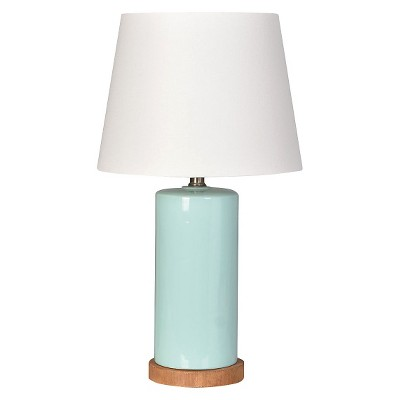 Column Table Lamp Aqua (Includes CFL bulb)- Pillowfort™
