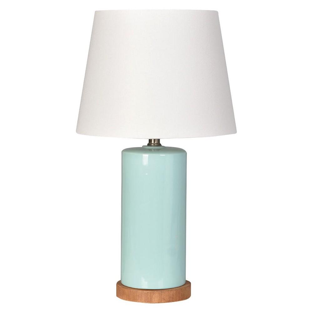 Column Table Lamp Aqua (Includes Cfl bulb) - Pillowfort, Sea Foam Green