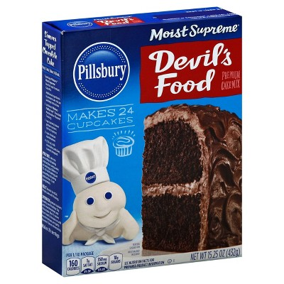 Baking Mixes: Pillsbury Moist Supreme Devil's Food Cake Mix