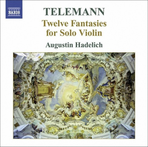 Augustin hadelich - Telemann:12 fantasies for solo violin (CD) - image 1 of 1