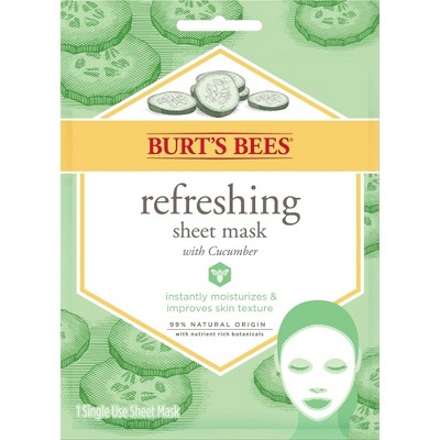Burt's Bees Refreshing Sheet Mask - 1ct