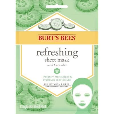 Burt's Bees Refreshing Sheet Mask - 1ct