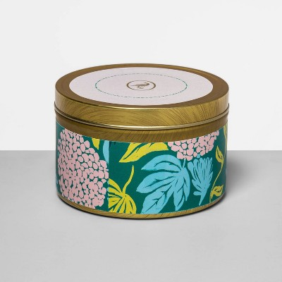 4.8oz Tin Jar Candle Willow & Fern - Floral Collection - Opalhouse™