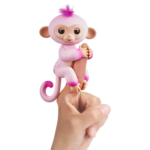 Fingerlings Interactive Monkey 2 Tone Pink To Pink