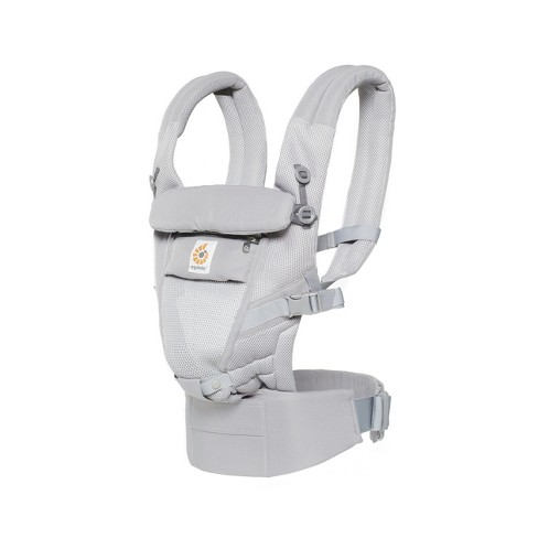 85d7f88d934 Ergobaby Adapt Ergonomic Multi-Position Cool Air Mesh Baby Carrier - Pearl  Gray   Target