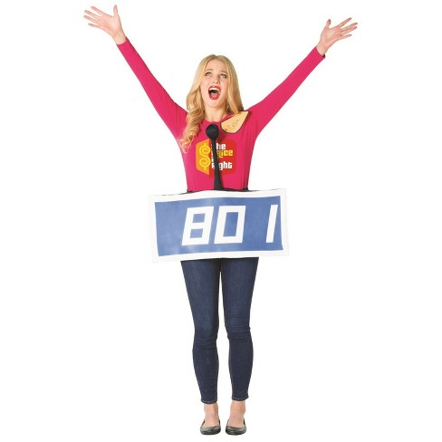 Adult The Price is Right Contestant Row Halloween Costume - image 1 of 1