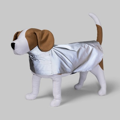 Reflective Funnel Neck Dog Jacket - Gray - Boots & Barkley™