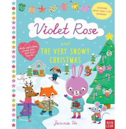Violet Rose and the Very Snowy Christmas (Paperback) - image 1 of 1
