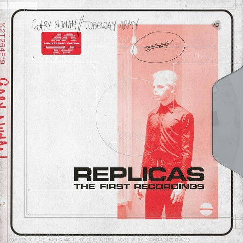 Gary Numan - Replicas: The First Recordings (Sage Green) (Vinyl) - image 1 of 1