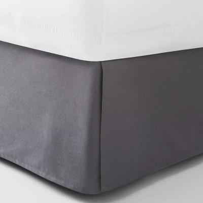 Full Bedskirt Dark Gray - Room Essentials™